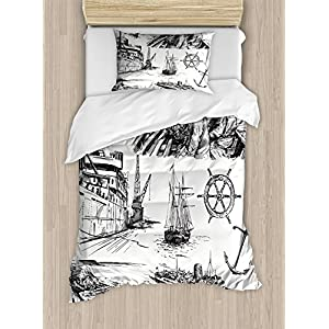 51y%2B-n95WOL._SS300_ Pirate Bedding Sets and Pirate Comforter Sets