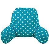 TICKOS Lumbar Pillow Reading Bed Rest Back Support Pillow (Sky Blue)