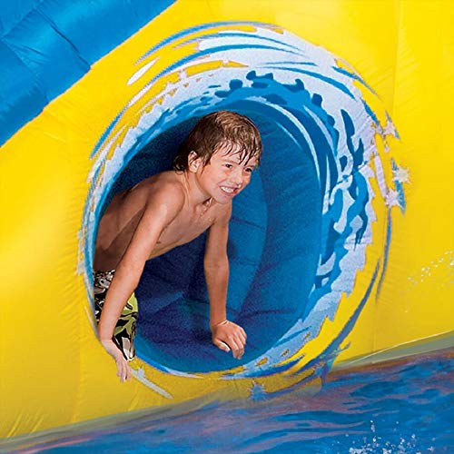 BANZAI Pipeline Twist Kids Inflatable Outdoor Water Pool Aqua Park and Slides by BANZAI (Image #4)