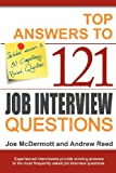 Top Answers to 121 Job Interview Questio, Joe Mcdermott, 0955262909