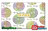 Key and Seal ID Card Hologram [50 PACK]