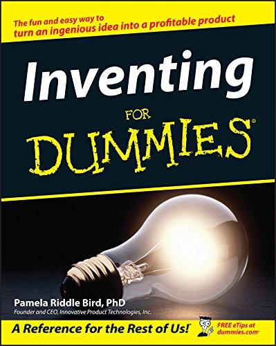 Inventing For Dummies [Pamela Riddle Bird] (Tapa Blanda)