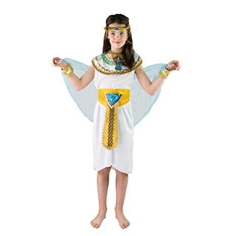 Bodysocks Fancy Dress Costume da Imperatrice Cleopatra Faraone d Egitto per  Bambini (da 7 6de4f44caab