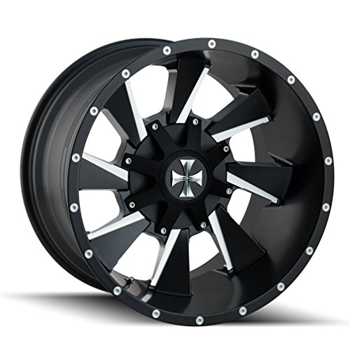 CaliOffRoad DISTORTED Wheel with Milled Finish (2010/6135, -19 mm Offset) -  Cali Off-Road, 9106-2137M