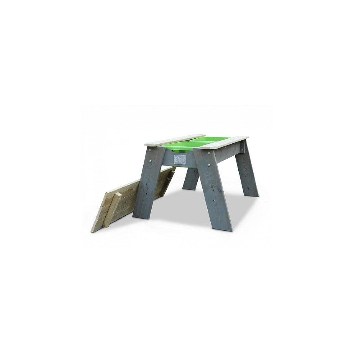 EXIT Aksent Sand- und Wassertisch L / Material: Nordische Fichte / Maße: 69x94x50 cm / Gewicht: 11 kg