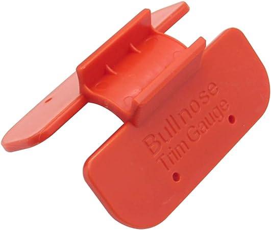 Corner Bullnose Trim Gauge Layout Duplicator Marking Working Wood Tool D7O3