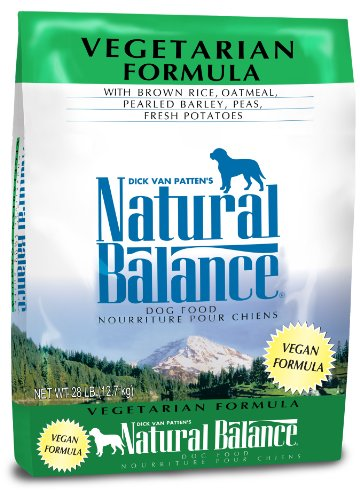 Natural Balance Vegetarian Formula Dry Dog Food, 28-Pound (Dog Boutique Online)