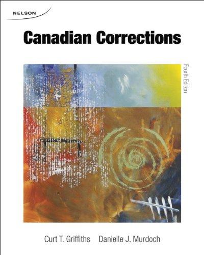 Canadian Corrections 4e