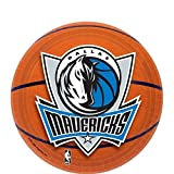 """Sports and Tailgating NBA Party Dallas Mavericks Dessert Plates Tableware, Paper, 7"""", Pack of 8"""