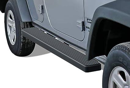 4 Black Eboard Running Boards Off Roader for 2007-2018 Jeep Wrangler JK Sport Utility 4-Door Nerf Bar | Side Steps