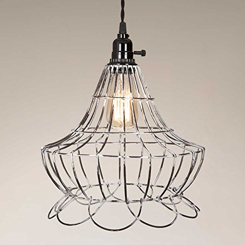 Wire Scallop Bell Pendant Lamp product image