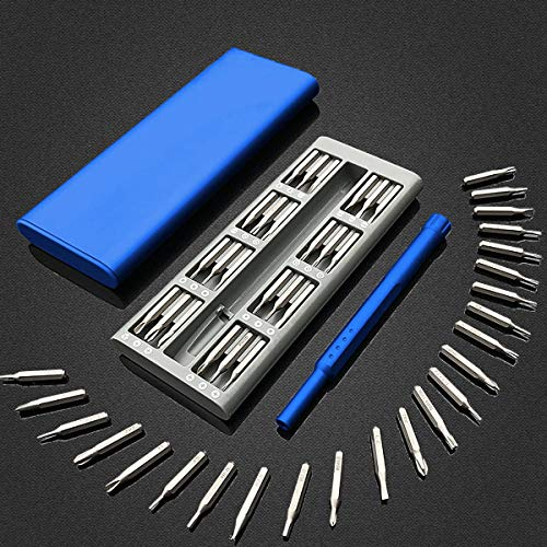 25 in 1 Multi Tool Magnetic Screwdriver Set Repair Kit with Alloy Case - O1 Alloy Tool