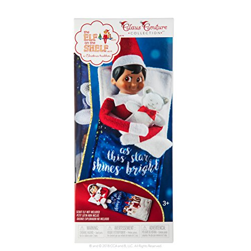 (The Elf on the Shelf Claus Couture Collection Scout Elf Slumber Set)