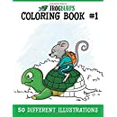 Frogburps Coloring Book #1: A Family Coloring Book (Frogburps Coloring Books) (Volume 1)