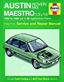 Austin Maestro (Haynes Service and Repair Manuals)
