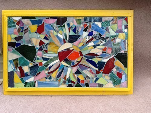 Sun Wall Art Stained Glass Mosaic