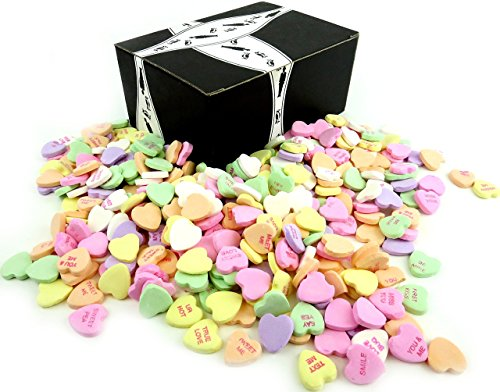 NECCO Large Classic Sweethearts Conversation Hearts, 3 lb Ba