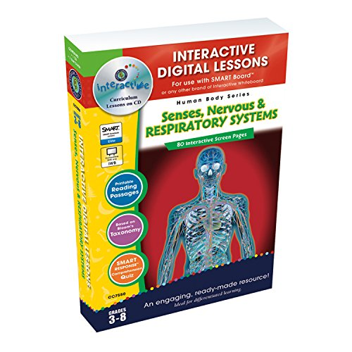 Senses, Nervous & Respiratory Systems - Digital Lesson Plan (Human Body) (Human Body (Classroom Complete Press))