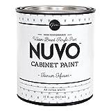 kitchen cabinet refacing ideas Nuvo Cabinet Paint (Titanium Infusion) Quart