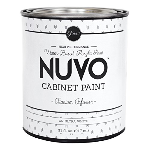 Nuvo Cabinet Paint (Titanium Infusion) Quart (Best Paint For Formica Cabinets)