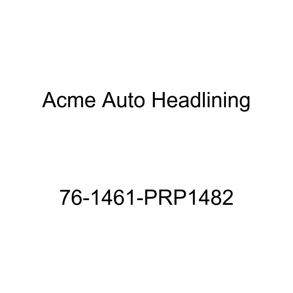 4 Bow 1976 Chevrolet Chevette 2 Door Hatchback Acme Auto Headlining 76-1461-PRP1482 Medium Blue Replacement Headliner
