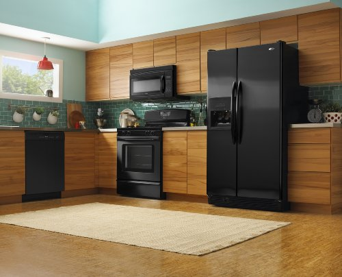 Amana 5.0 -Cubic Foot Self-Cleaning Gas Range, AGR5844VDB, Black - smallkitchenideas.us