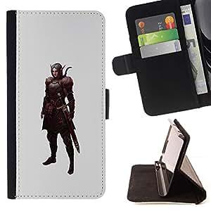 Momo Phone Case / Flip Funda de Cuero Case Cover - Krieger Mystical - LG G4 Stylus H540