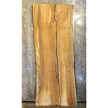 2- Natural Edge Spalted Maple Split Board/River Table Slab