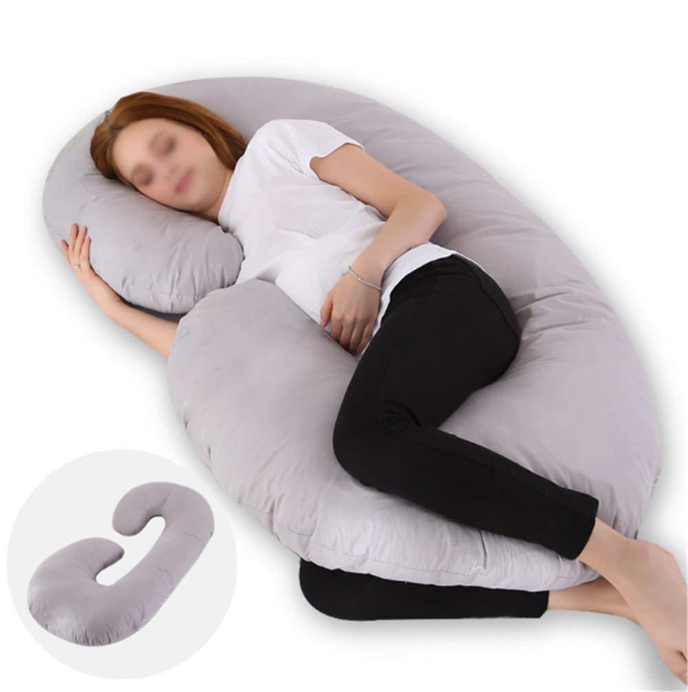 almohada de apoyo en forma de C para la maternidad Almohada de embarazo
