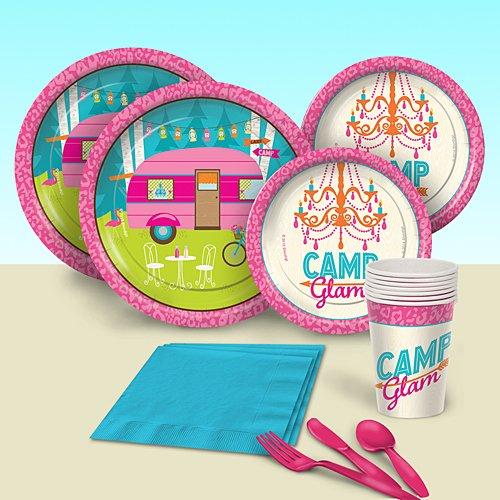 Shindigz Camp Glam Basic Party Pack for 8