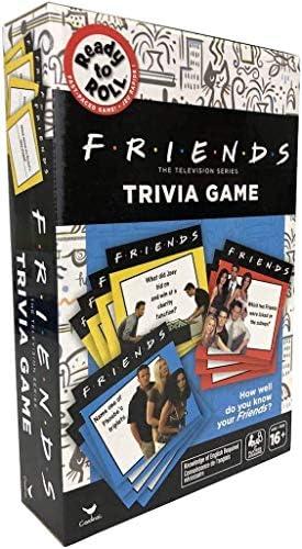 [해외]Friends The TV 시리즈 트라이비아 게임 - 2세 이상 플레이어 16세 이상 / Friends The Television Series Trivia Game - 2 Or More Players Ages 16 and Up