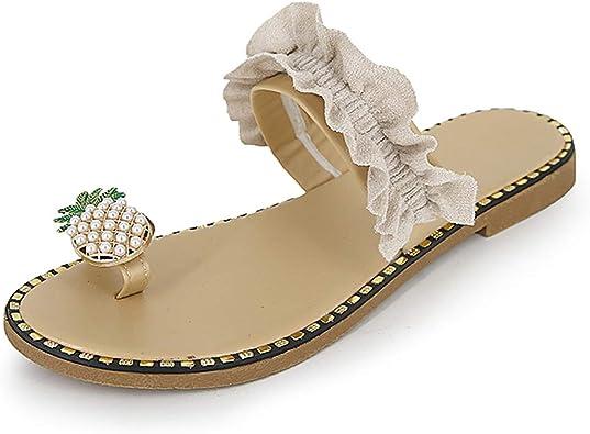 Slide Sandals Open Toe Single Band