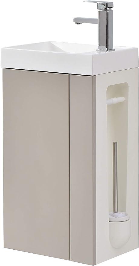 Lave Mains Pour Wc Ou Petite Salle De Bain Compact 400 Laque