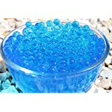 "SHEING® Decoration Vase Filler - Transparent Reuseable Water Beads Gel - 11 Colors - Almost 5000PCS per pack,YOU are the ""designer"" !!! (royal blue)"