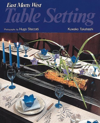 Table Setting: East Meets West by Kuwako - Maple Pub Table Shopping Results