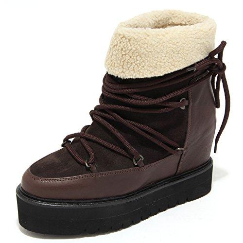 Palomitas 1252m Doposci Donna Saovage Scarpe Zeppe Stivali Snow Boots Women Marron