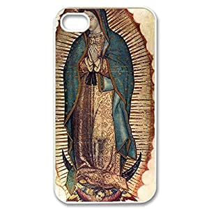 Diy iPhone 6 plus Hard Shell Custom Case- of Virgin Mary Christian and Child Baby Jesus Protective PC Case for iPhone 4 iPhone 6 plus all (White 020312) combined successfully