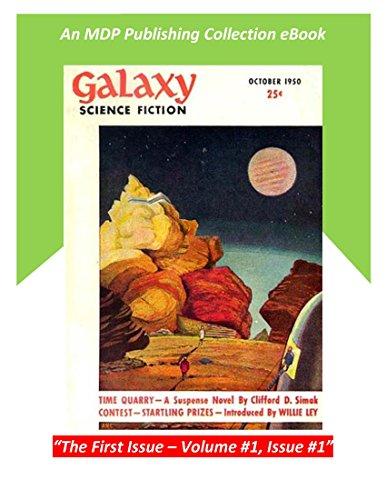 Galaxy Science Fiction October 1950: The Original First Issue (Galaxy Science Fiction Digital Series)