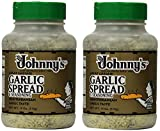 Johnnys Garlic Spread and Seasoning, 2Pack (18 Ounce)
