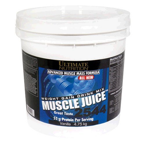 Ultimate Nutrition Muscle Juice 2544 Weight Gain Drink Mix, Vanilla, 4.75 kg by Ultimate Nutrition
