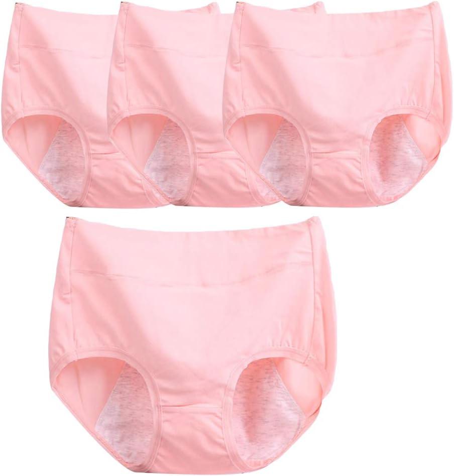 Q&M Mujer Calzoncillos De Maternidad Respirable Cintura Media ...