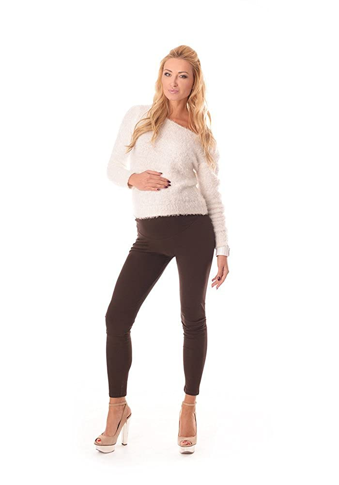 Purpless Maternity New Stretchy Maternity Leggings Over Bump Full Length 1000