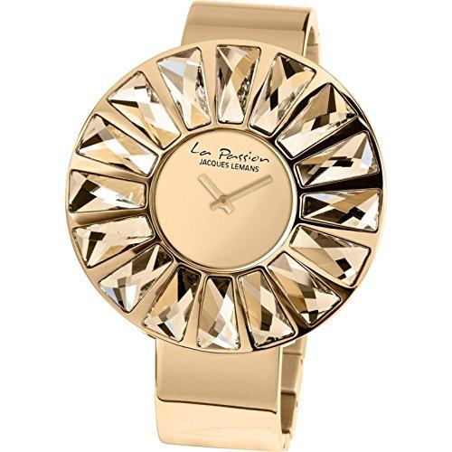 Jacques Lemans La Passion LP-120C Wristwatch for women With Swarovski crystals