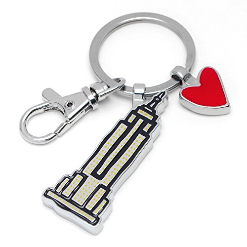 Marc Tetro NYC Keyrings (Empire State, Taxi, Statue of Liberty) (Empire State Building)