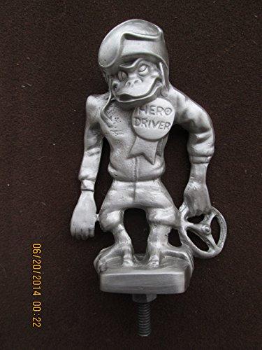 Vintage  Rare Monkey Hero Driver Car Hood Ornament