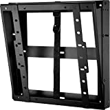 Peerless DST660 Flat/Tilt Wall Mount with Media Device Storage, Black
