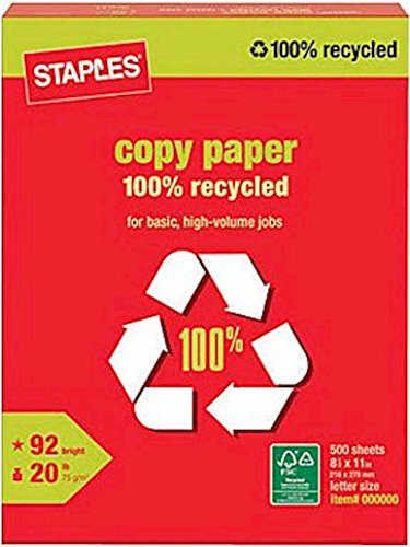 100% Recycled Paper - 5