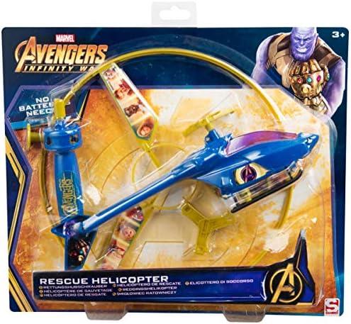 Sambro AVE5-3269 Hubschrauber mit Starter, Marvels Avengers, bunt