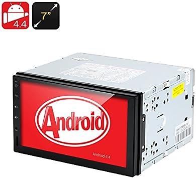 Reproductor de DVD para Coche BW 2 DIN, Android 4.4, Pantalla táctil de 7 Pulgadas, DVB-T, GPS, 3G, Manos Libres: Amazon.es: Electrónica