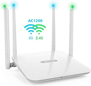 WAVLINK 1200Mbps High Power Long Range Wireless wifi Router